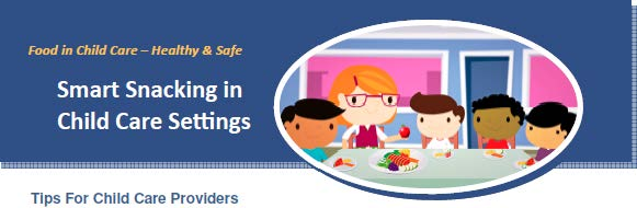 Canada Smart Snacks in Child Care Setting banner